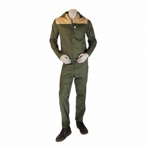 Cedar Green with Khaki panels conti suits