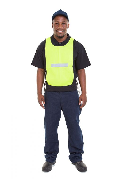 reflective vests solid mesh