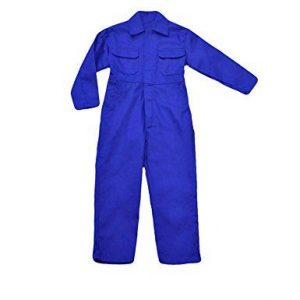 Overalls in white or blue