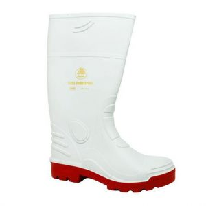 ladies gumboots white