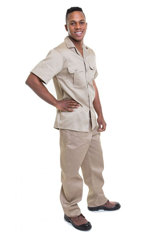 khaki shirts bushveld